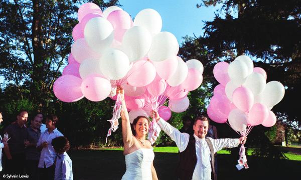 ballons-mariage