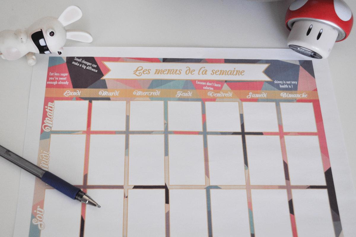 template-menu-semaine-printable